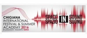Chigiana International Festival & Summer Academy - 12 agosto 2016