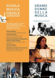 Grandi donne nella musica: Rebecca Clarke - 18/5/18